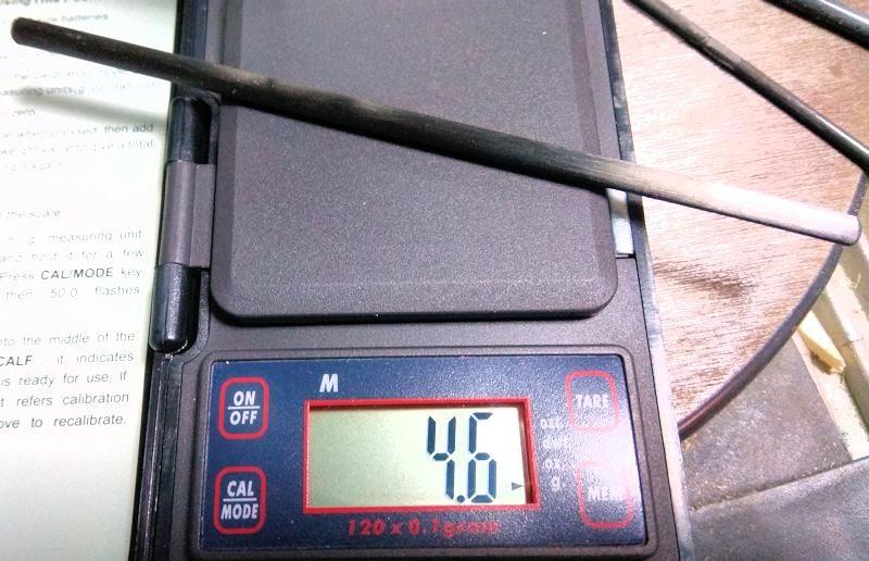 057 Peso de la nueva bayoneta maciza de marca DPP