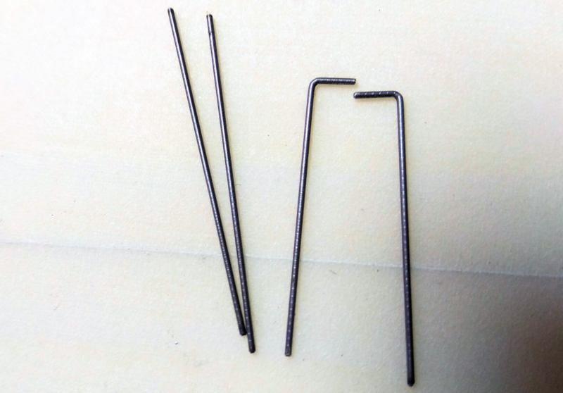 072 Varilla de acero 0.8mm para los kwik links