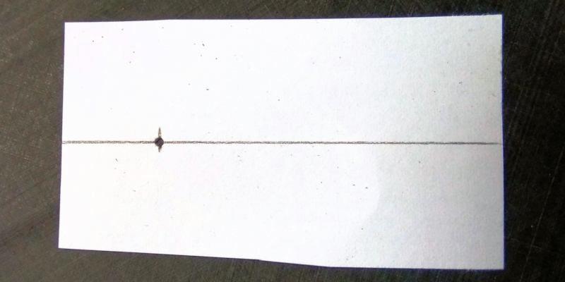 081 Papel para posicionar los taladros
