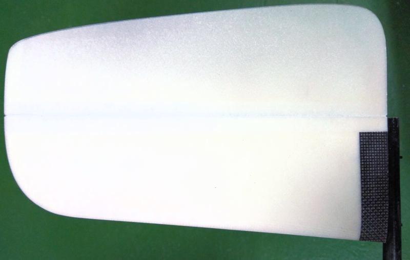 089 Prueba de ajuste deriva con fuselaje