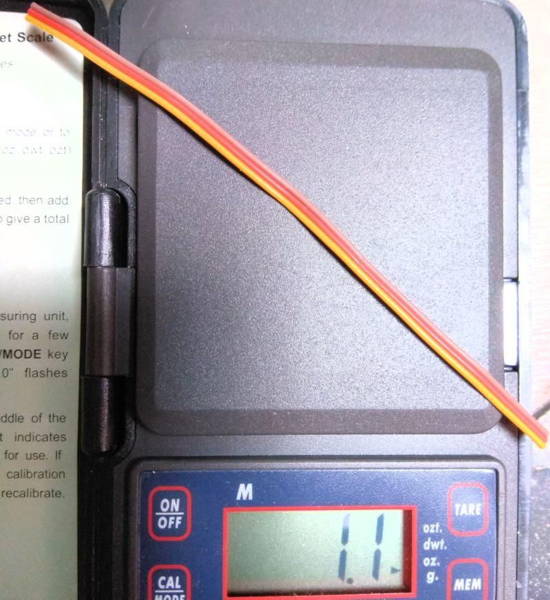140 Ahorro de peso por el cable de control del variador