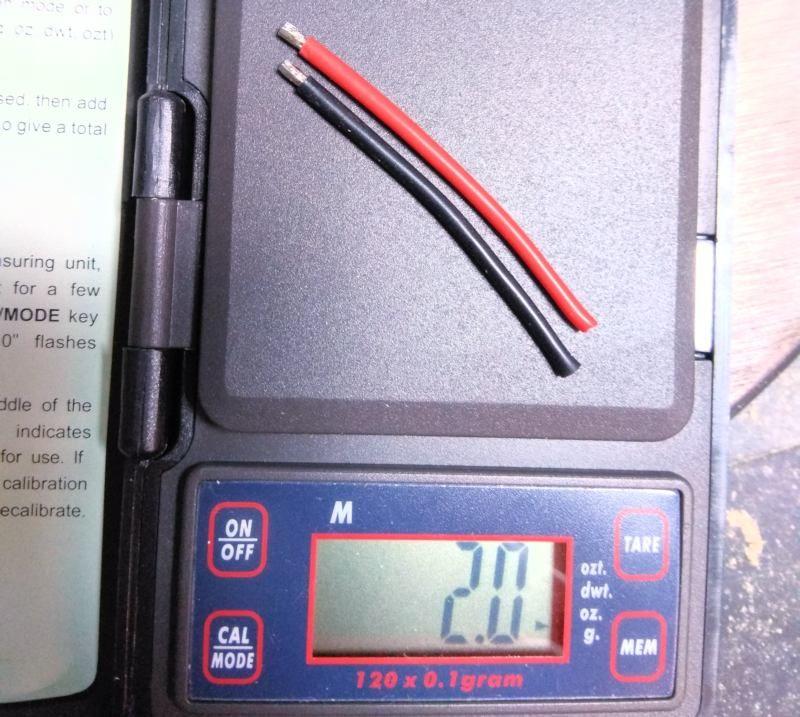 141 Ahorro de peso por el cable de batería del variador