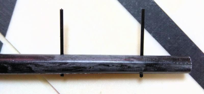 087 Varillas carbono 1.5mm solo presentadas en los taladros